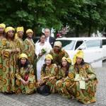 Afrikanische Hochzeiten - Limousine