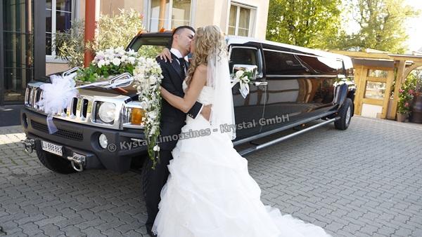 Limousine zur Hochzeit