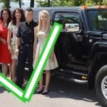 Stretch Limousine für 9, 10, 11, 12, 13, 14, 15, 16 Personen mieten