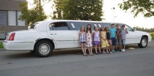 Limousine mieten für Kindergeburtstag