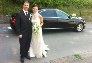 Mercedes für Hochzeit mieten Schweiz