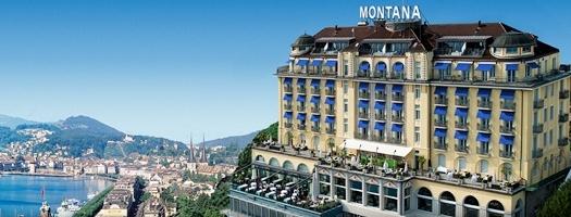 Art Deco Hotel Montana Sonntagsbrunch