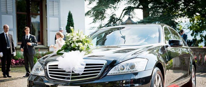 Hochzeits-Limo S-Klasse