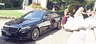 Hochzeitsauto mieten Mercedes S350