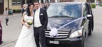 Hochzeitsauto mieten Vip Van