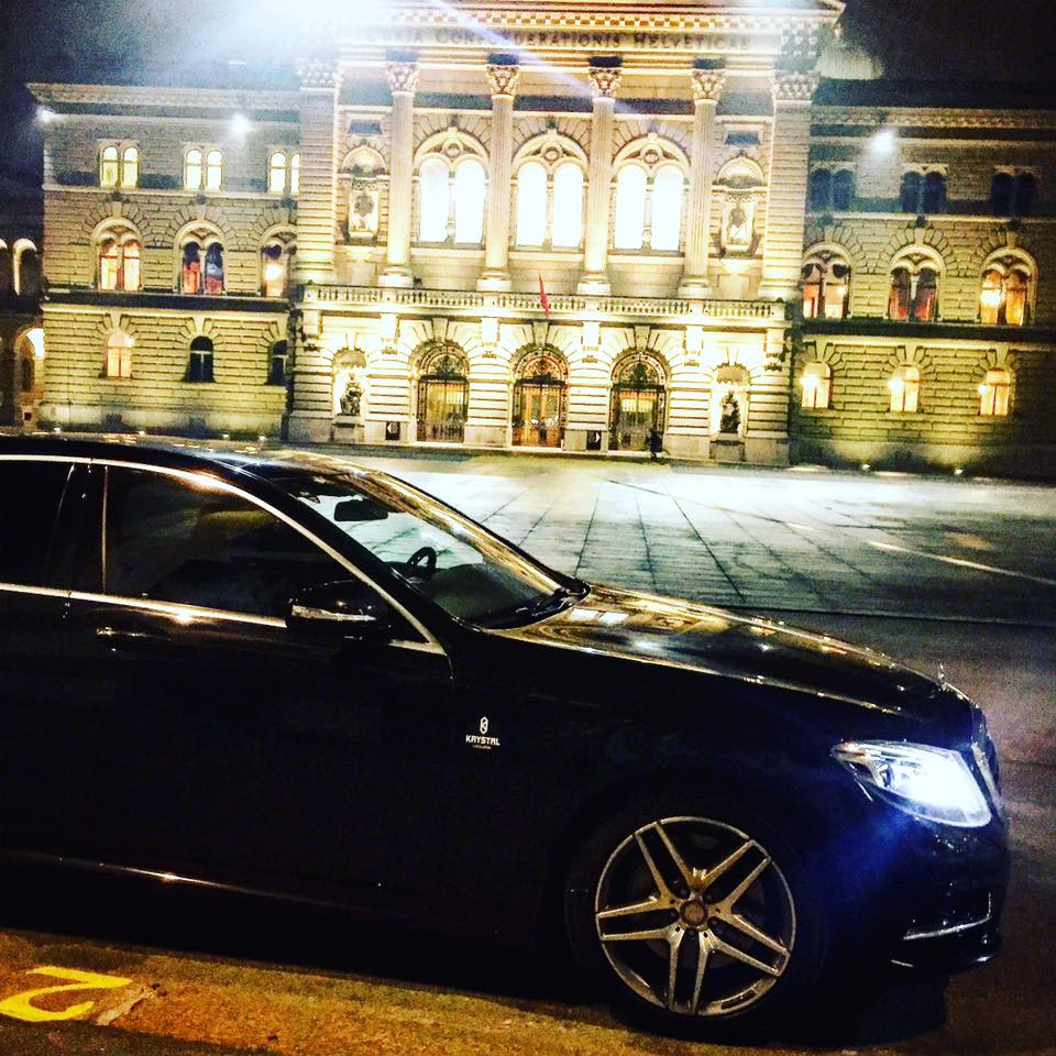 Limousine Mercedes Bern