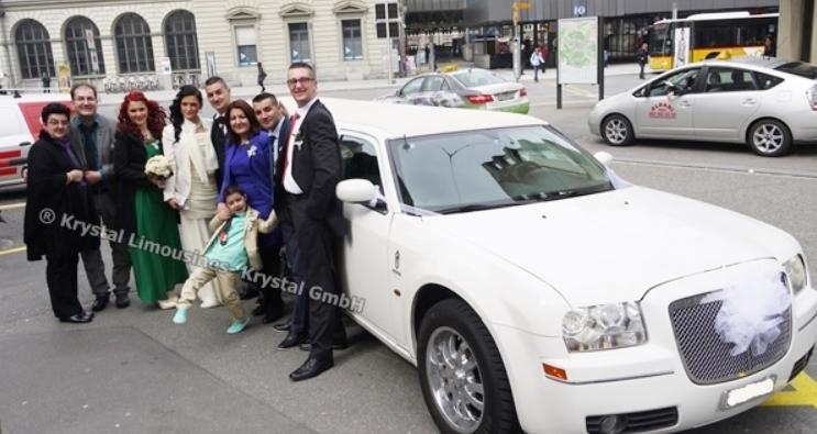 Limousine mieten Winterthur Service