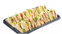 Dreieck Sandwich Platte