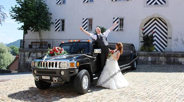 Hochzeitsgefährt