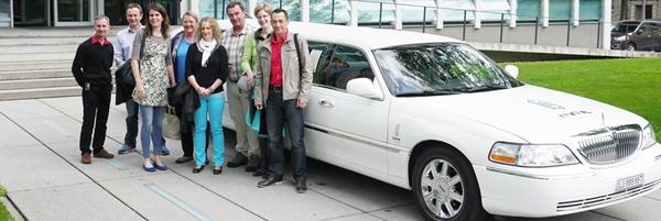 Limousine zur Pensionierung