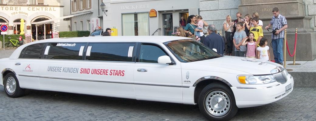 Promotion Limousine Werbung