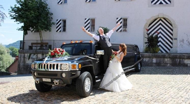 Beliebte Hochzeitsautos