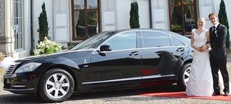 Hochzeitsauto mieten Mercedes S-Klasse