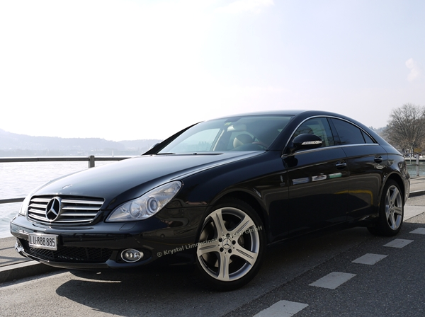 mercedes cls 500 limousine mit chauffeurservice. Black Bedroom Furniture Sets. Home Design Ideas