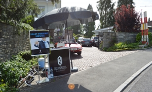 Valet Parking Service Mieten