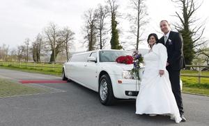 Hochzeitslimo von Fam Haas L.Stutz April 2014