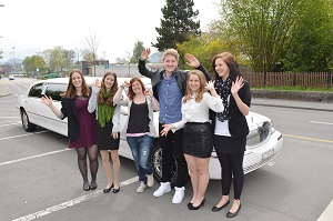Limo zur Konfirmation Thomas