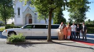 Limousine zum Schulabschluss
