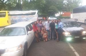 Limo Ausflug von Robin im August 14