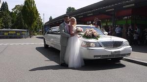 Hochzeitslimo Fahrt von Fam Deiana im August 2014