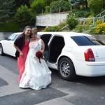 Hochzeitsfahrt mit Chrysler Limo