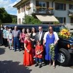 Hochzeitsfahrt Rita und Markus August 2014