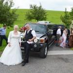 Hummer Hochzeitslimo SteffiFabian
