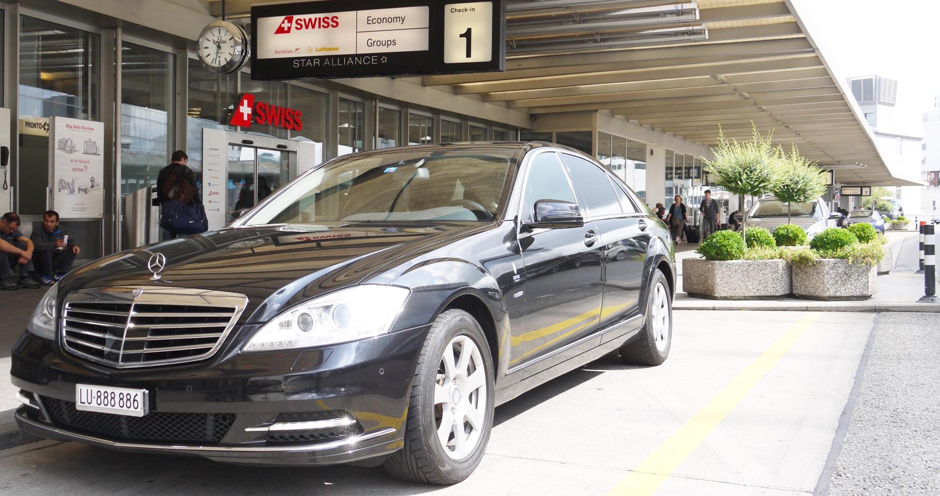 Gäste vom Flughafen abholen