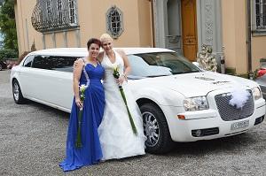 Fahrt zur Hochzeit in Luzern von Susanna im September14