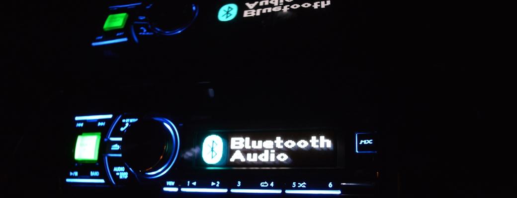 Musikanlage der Limousine