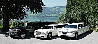 Mehrere Limousinen mieten