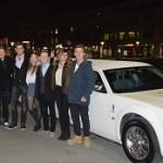 Limo Chrysler zum Geburtstag Bern