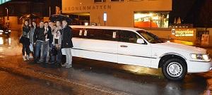 Limousinenfahrt durch Basel