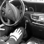 Selbstfahrende Limousine