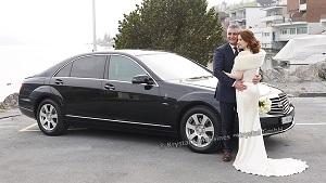 CHauffieren lassen zur Hochzeit Mercedes