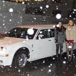 Verlobung Chrysler Limo