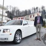 Chrysler Limo am 50 Geburtstag