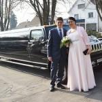 Corinas Hochzeit im Hummer