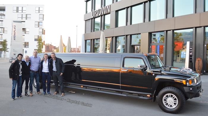 Limousine für den Mann