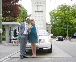 2 Lincoln zur Hochzeit in ZH