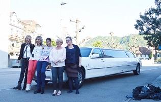 Junggesellenabschied Limousine