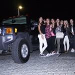 Limousine zur Abschlussfeier