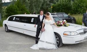 Stretchlimousine Hochzeitskleiderball