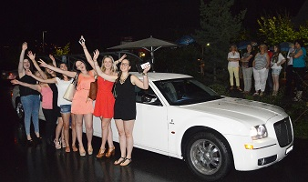 Geburtstag mit Chrysler Stretch
