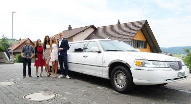 Limousine zum Auto Salon Genf