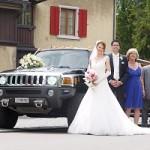 Professionelle Hochzeitslimousine