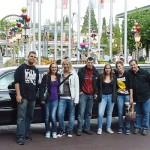 Limousine zum Europapark