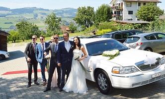 Spezielles Fahrzeug für Hochzeit