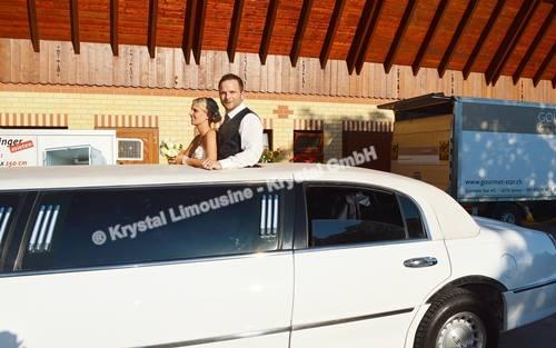 Limousine mit Dachfenster