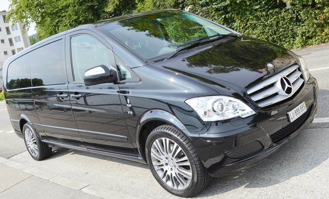 Mercedes Viano Chauffeur Service